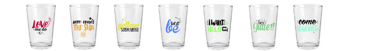 Vasos de The Beatles